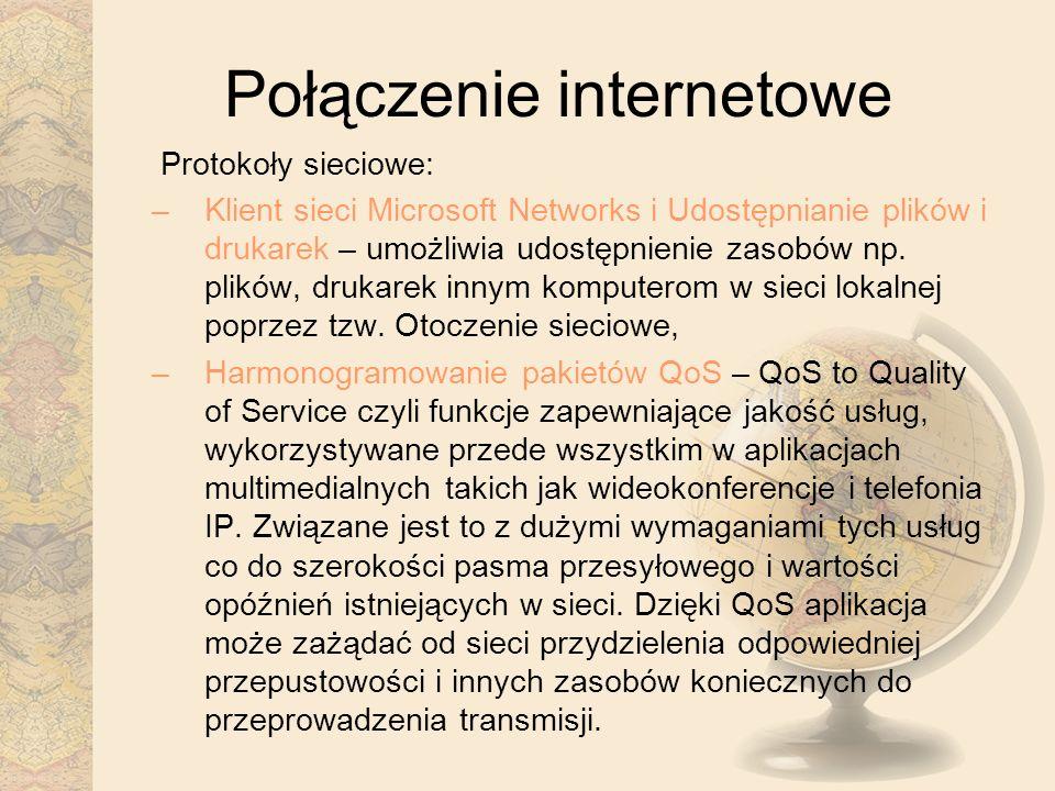 Połączenie internetowe