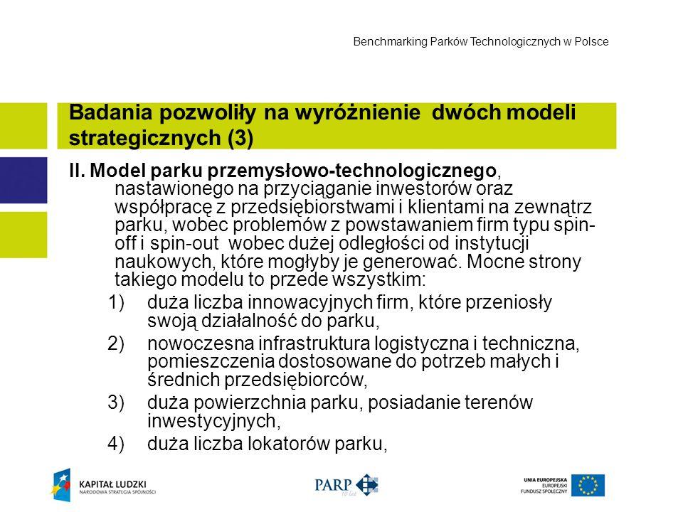 Badania pozwoliły na wyróżnienie dwóch modeli strategicznych (3)