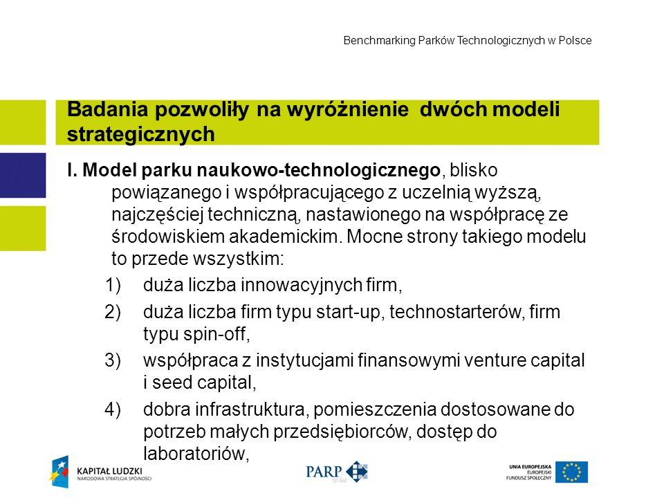 Badania pozwoliły na wyróżnienie dwóch modeli strategicznych