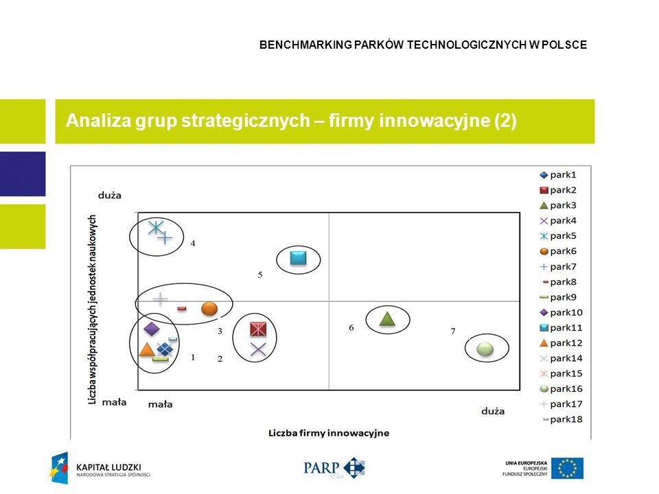 Analiza grup strategicznych – firmy innowacyjne (2)