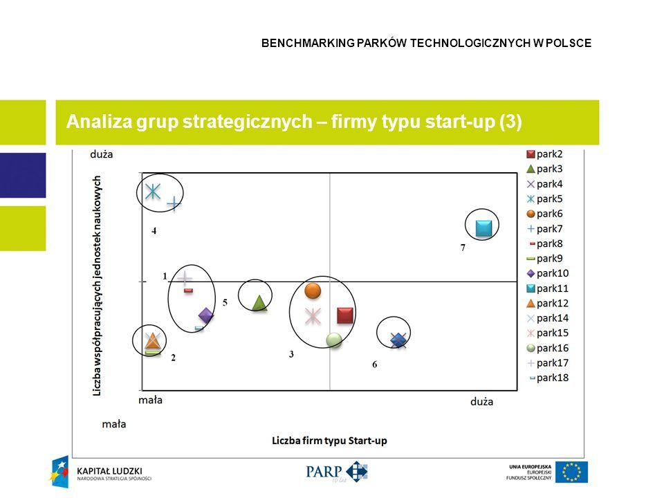 Analiza grup strategicznych – firmy typu start-up (3)