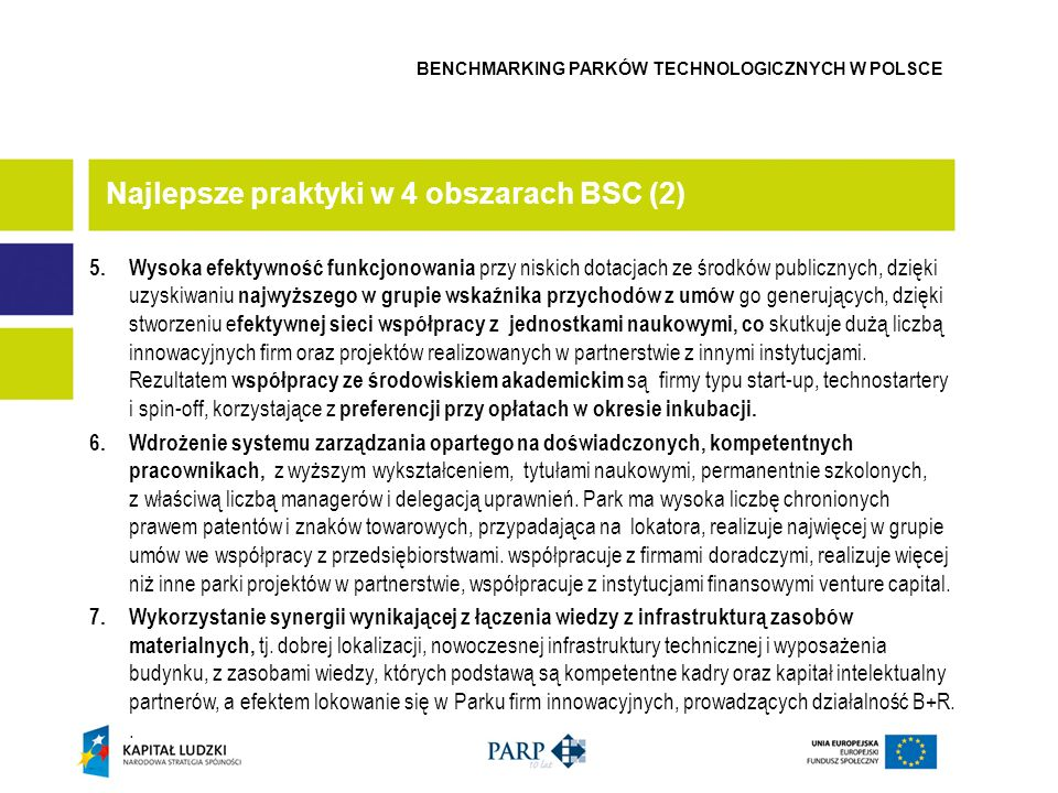 Najlepsze praktyki w 4 obszarach BSC (2)