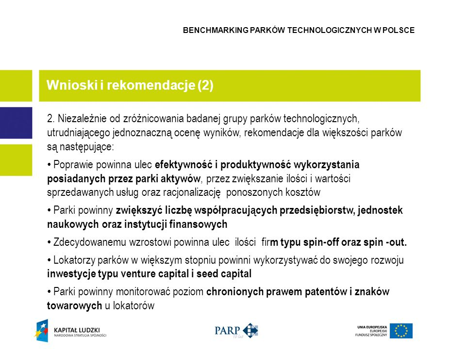 Wnioski i rekomendacje (2)