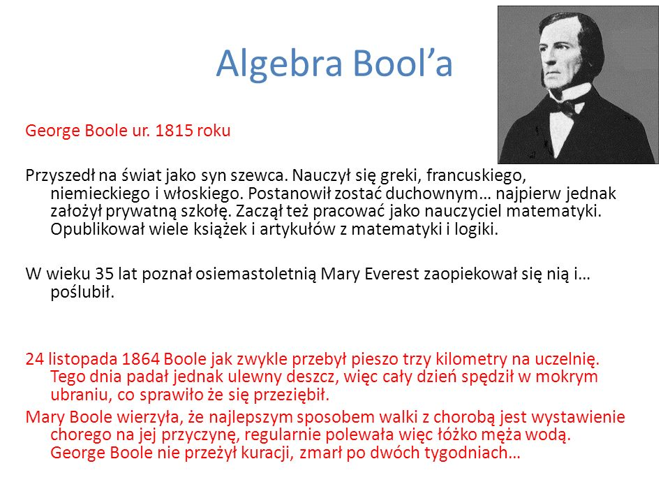 Algebra Bool'a