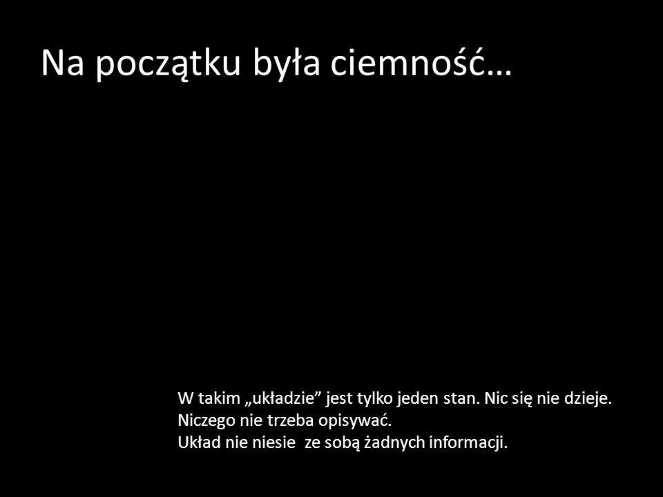 Na początku była ciemność…
