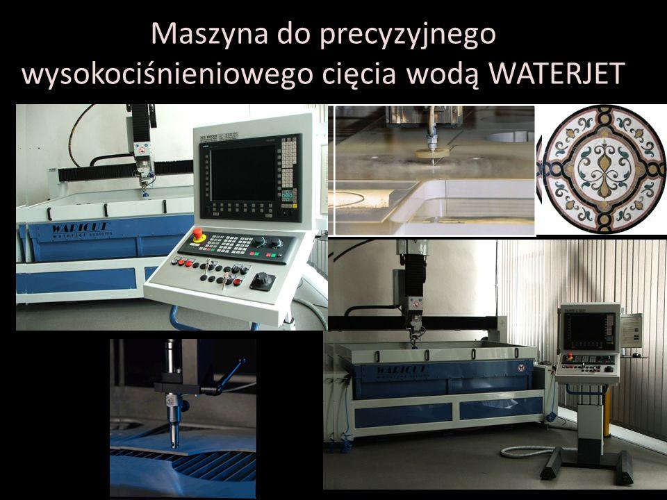 Maszyna do precyzyjnego wysokociśnieniowego cięcia wodą WATERJET