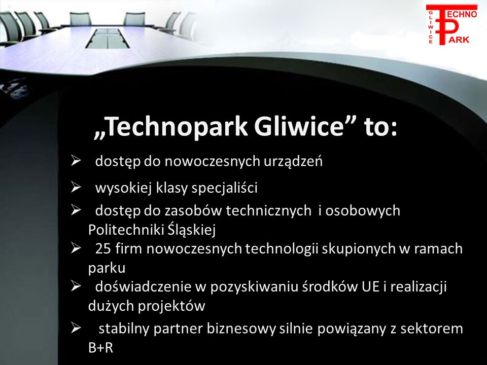"""""""Technopark Gliwice to:"""