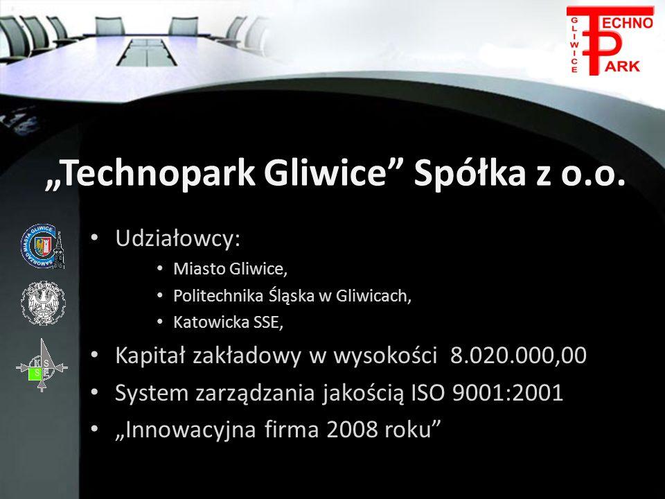 """""""Technopark Gliwice Spółka z o.o."""