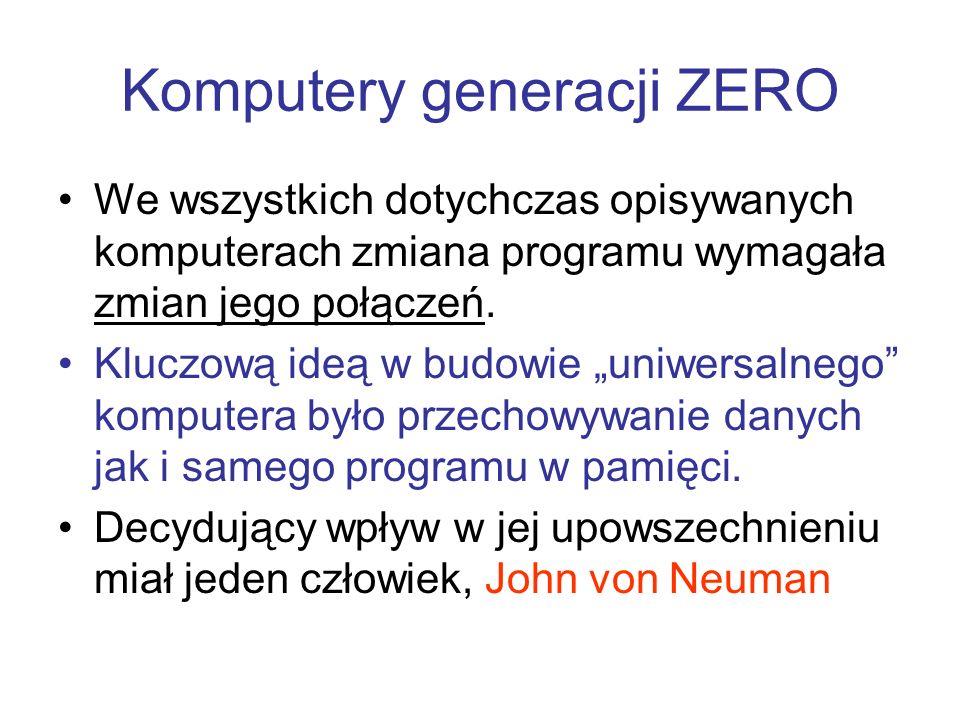 Komputery generacji ZERO