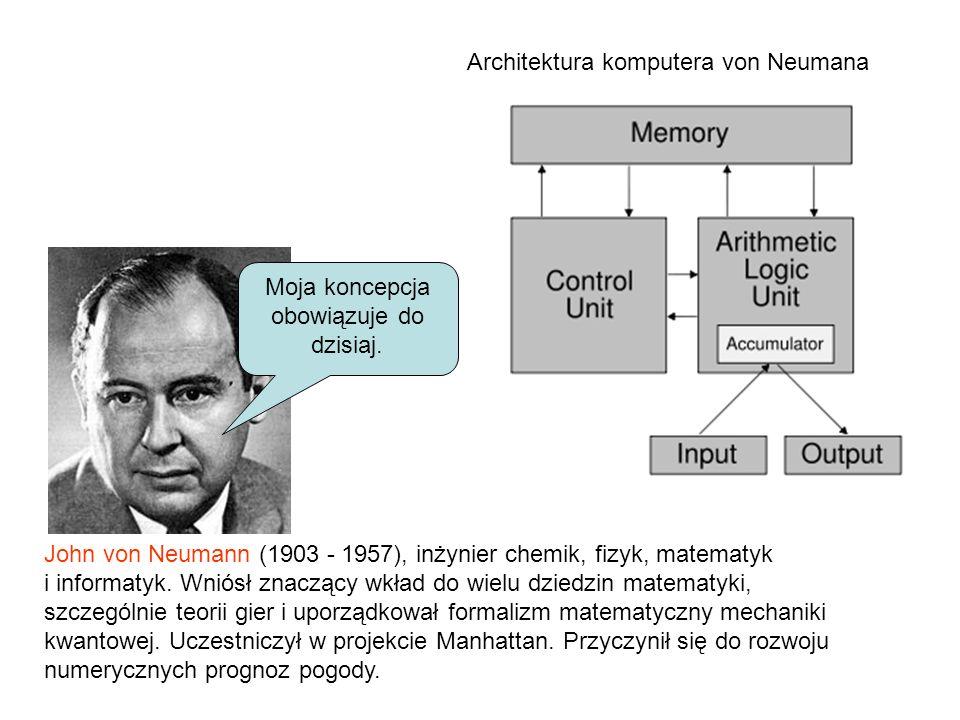 Architektura komputera von Neumana