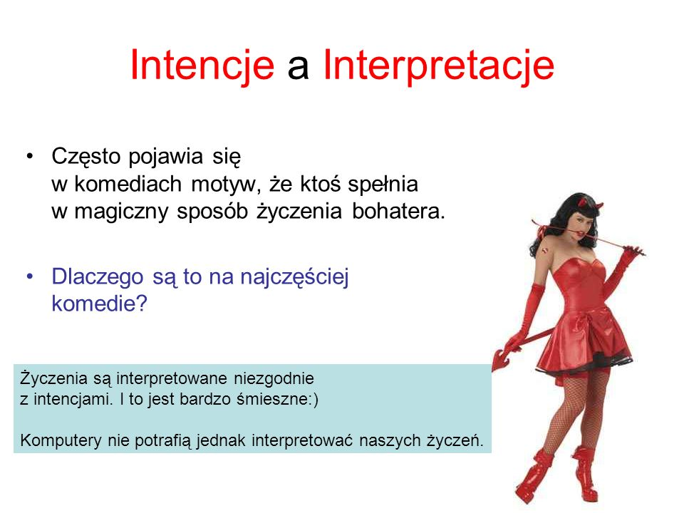 Intencje a Interpretacje