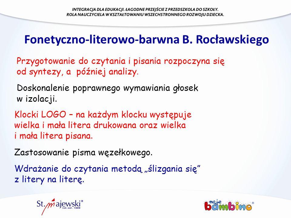 Fonetyczno-literowo-barwna B. Rocławskiego
