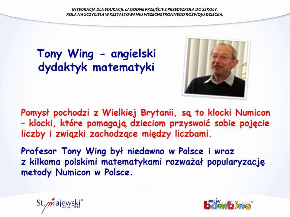 Tony Wing - angielski dydaktyk matematyki