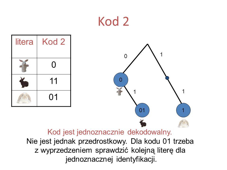 Kod 2 litera. Kod 2. A. B. 11. C. 01. 1. A. 1. 1. 01. 1. C. B.