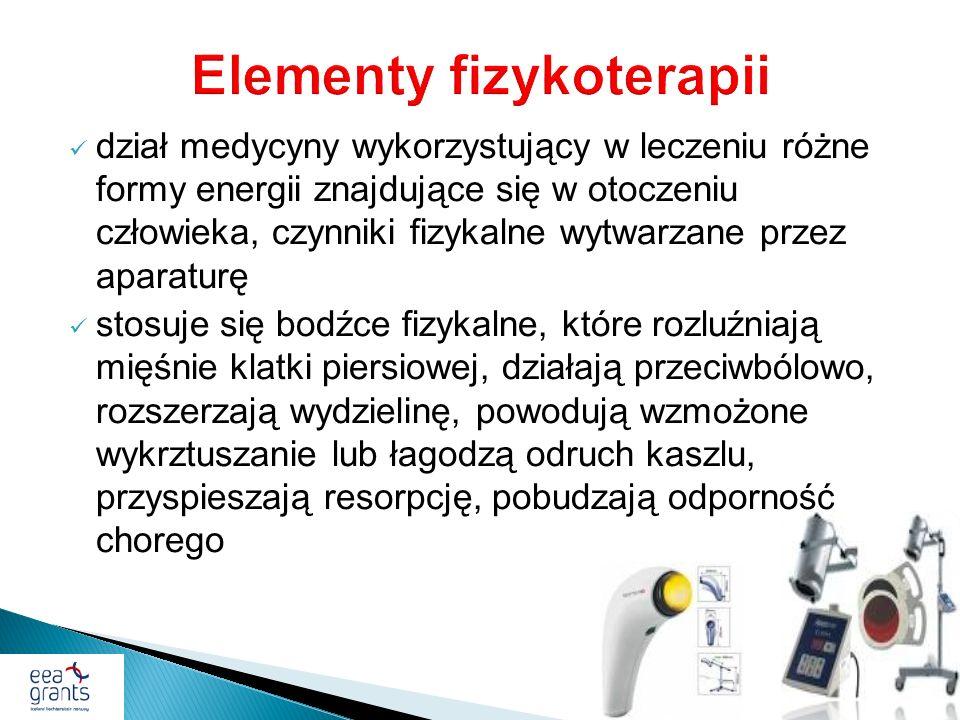 Elementy fizykoterapii