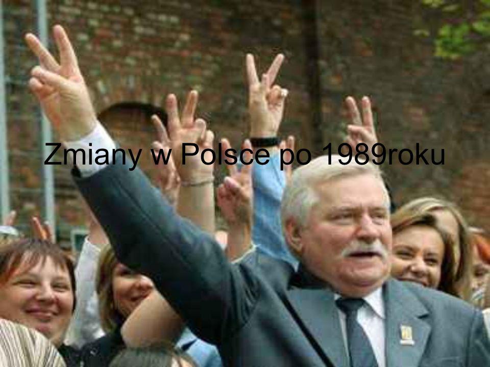 Zmiany w Polsce po 1989roku