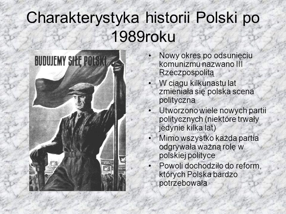 Charakterystyka historii Polski po 1989roku