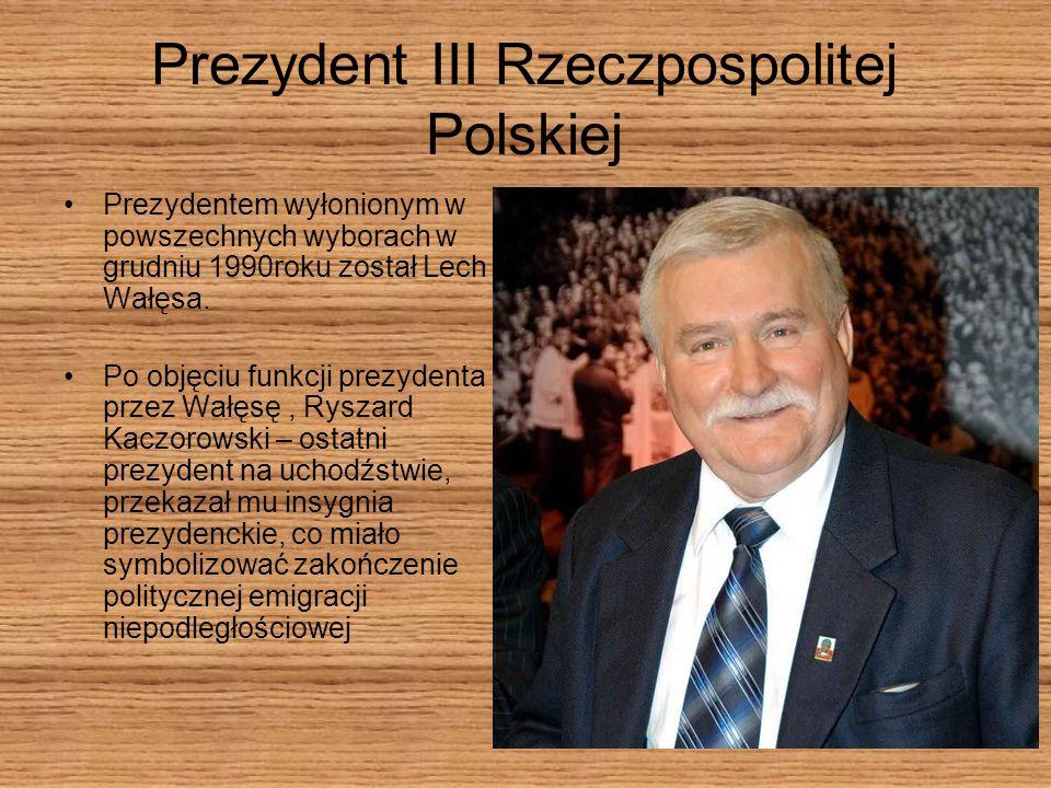 Prezydent III Rzeczpospolitej Polskiej