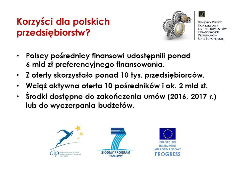 Korzyści dla polskich przedsiębiorstw