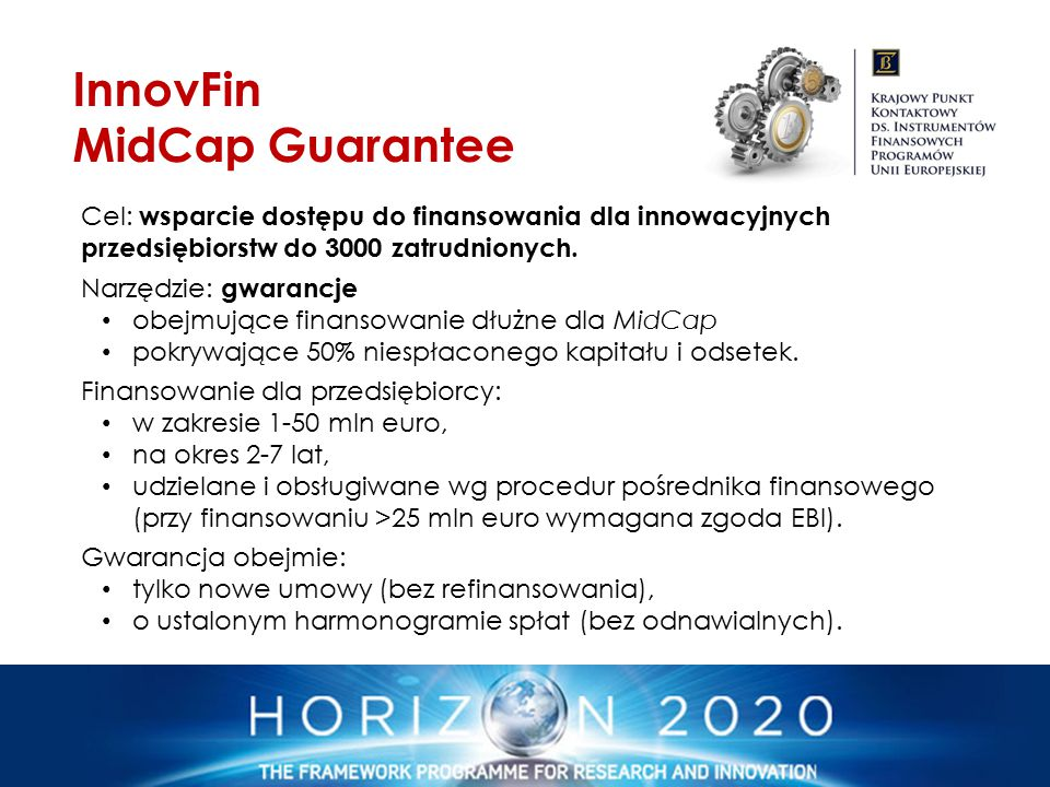 InnovFin MidCap Guarantee