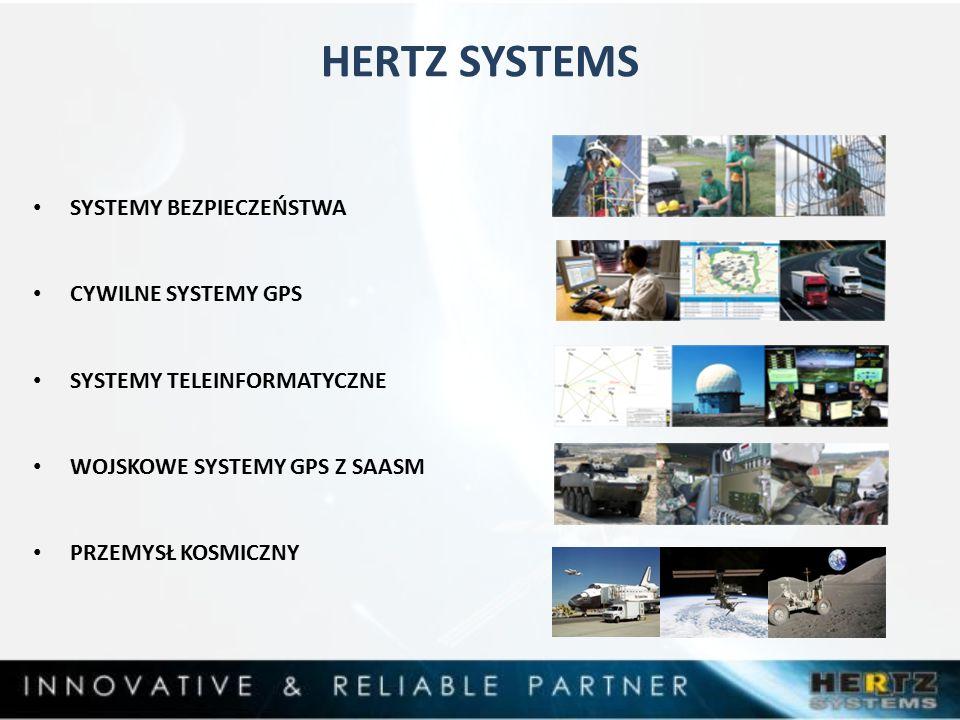 HERTZ SYSTEMS SYSTEMY BEZPIECZEŃSTWA CYWILNE SYSTEMY GPS