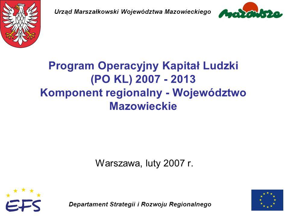 Departament Strategii i Rozwoju Regionalnego