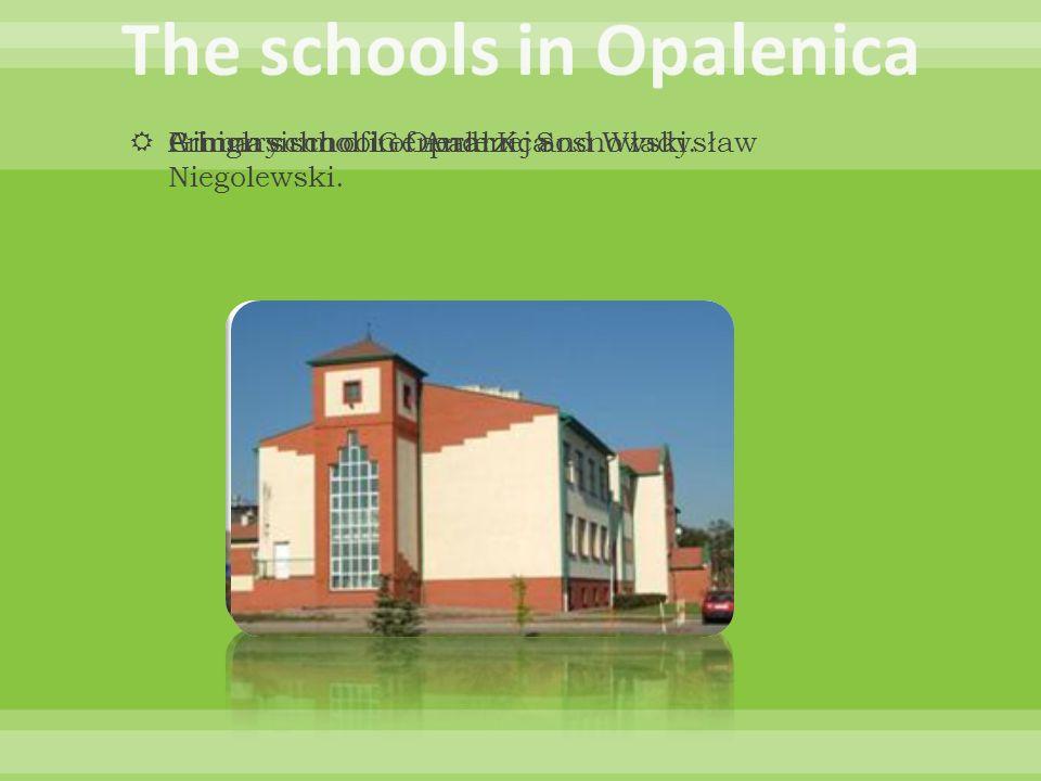 The schools in Opalenica