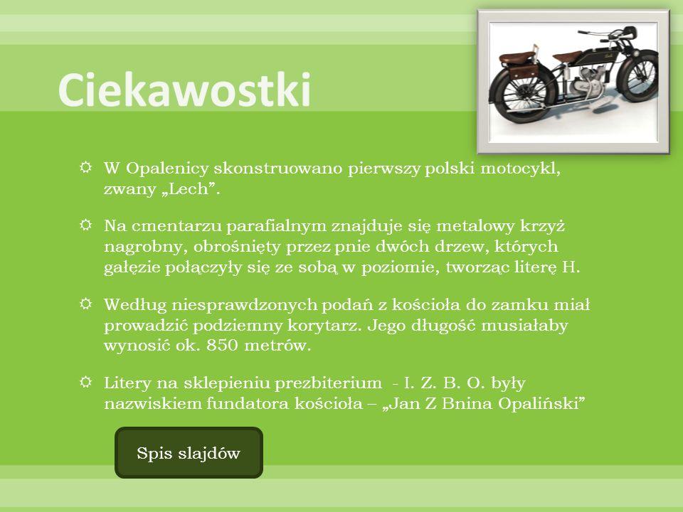 """Ciekawostki W Opalenicy skonstruowano pierwszy polski motocykl, zwany """"Lech ."""