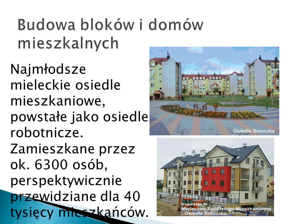 Budowa bloków i domów mieszkalnych