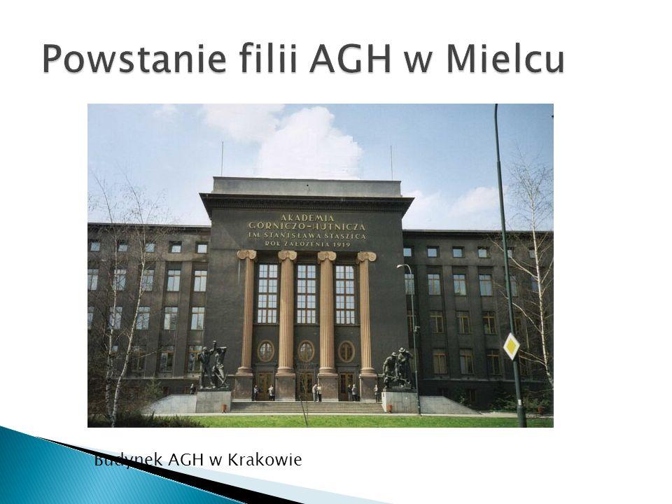 Powstanie filii AGH w Mielcu