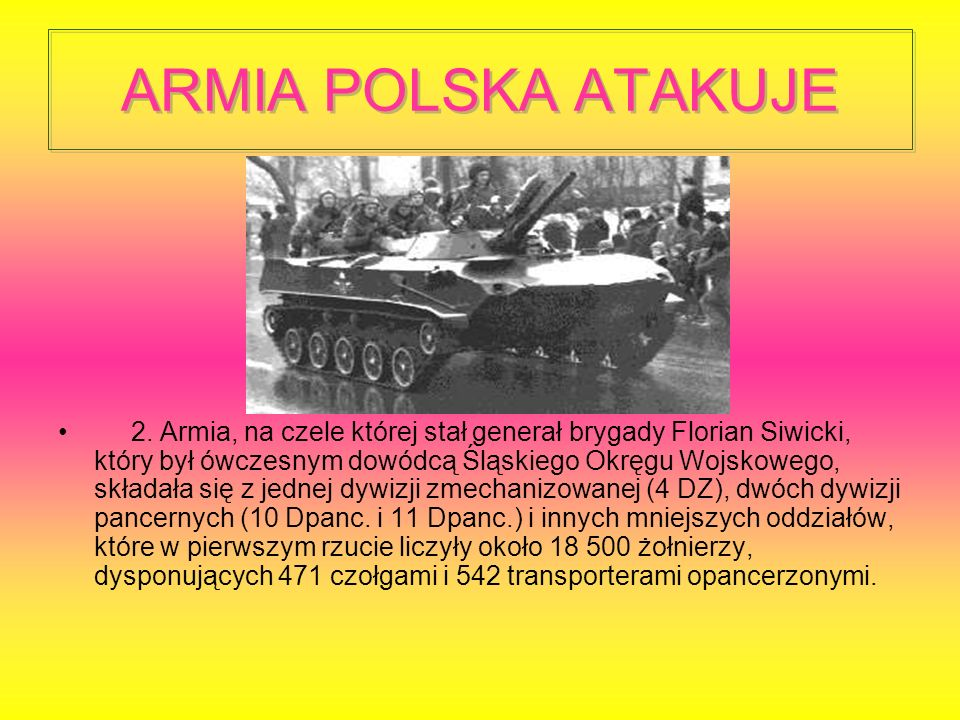 ARMIA POLSKA ATAKUJE