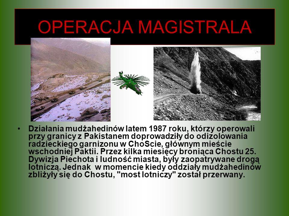 OPERACJA MAGISTRALA