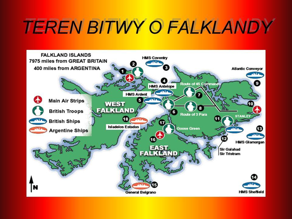 TEREN BITWY O FALKLANDY
