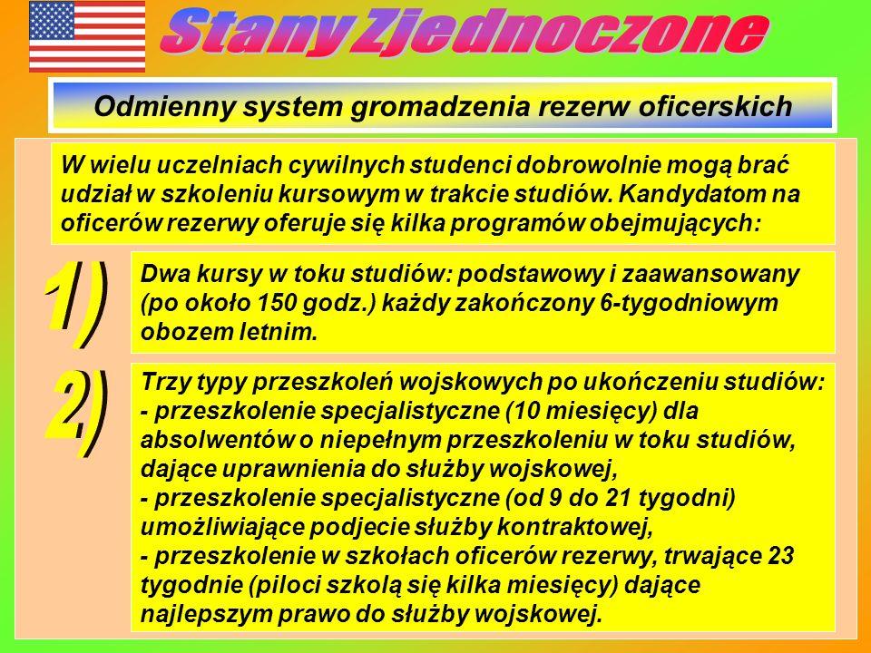 Odmienny system gromadzenia rezerw oficerskich