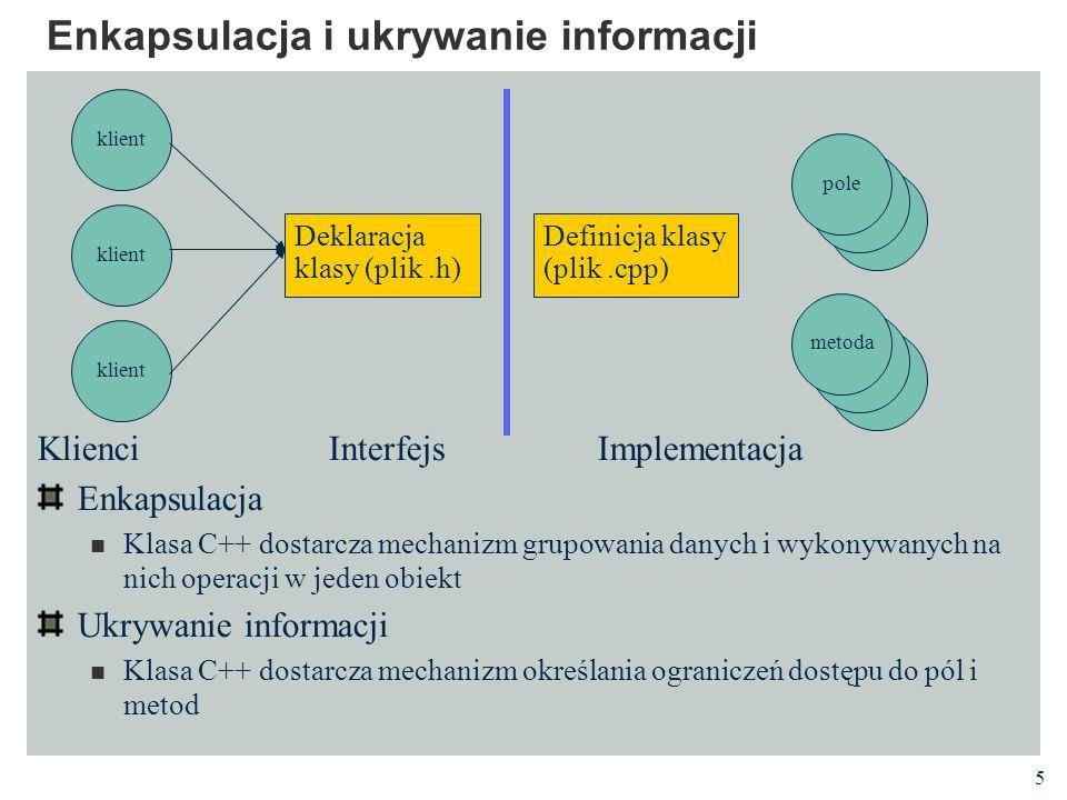 Enkapsulacja i ukrywanie informacji