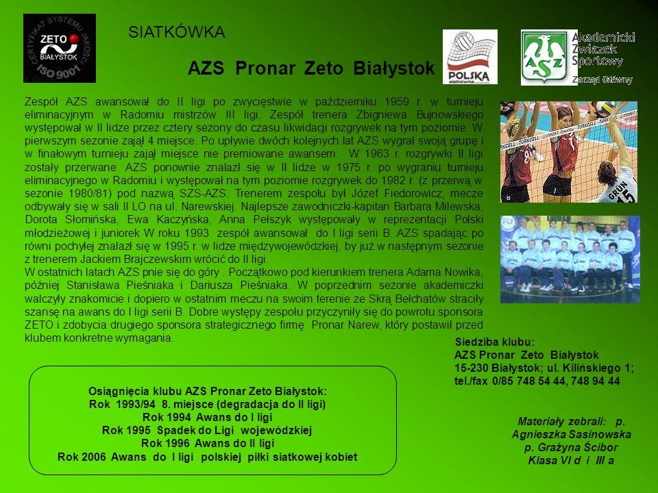 AZS Pronar Zeto Białystok
