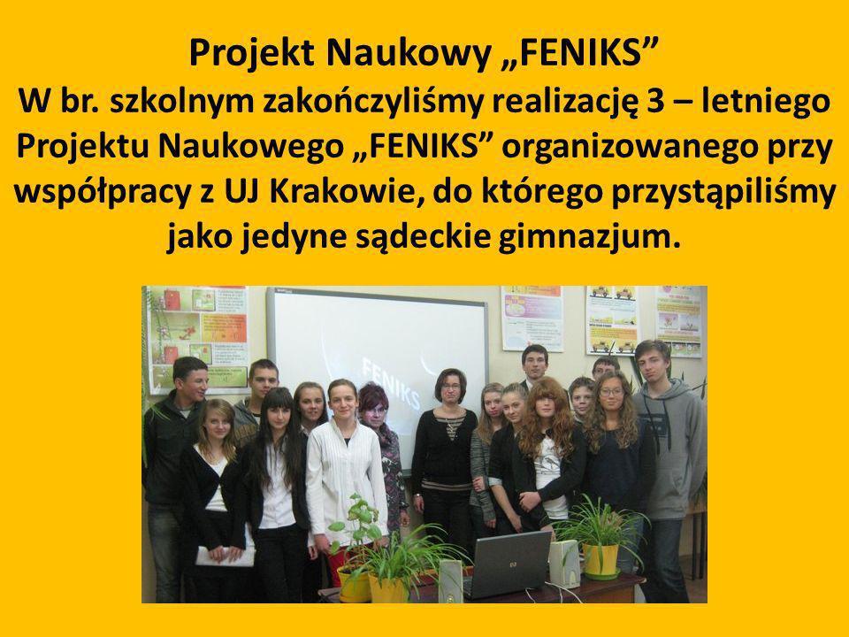 """Projekt Naukowy """"FENIKS"""