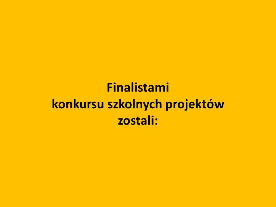 konkursu szkolnych projektów
