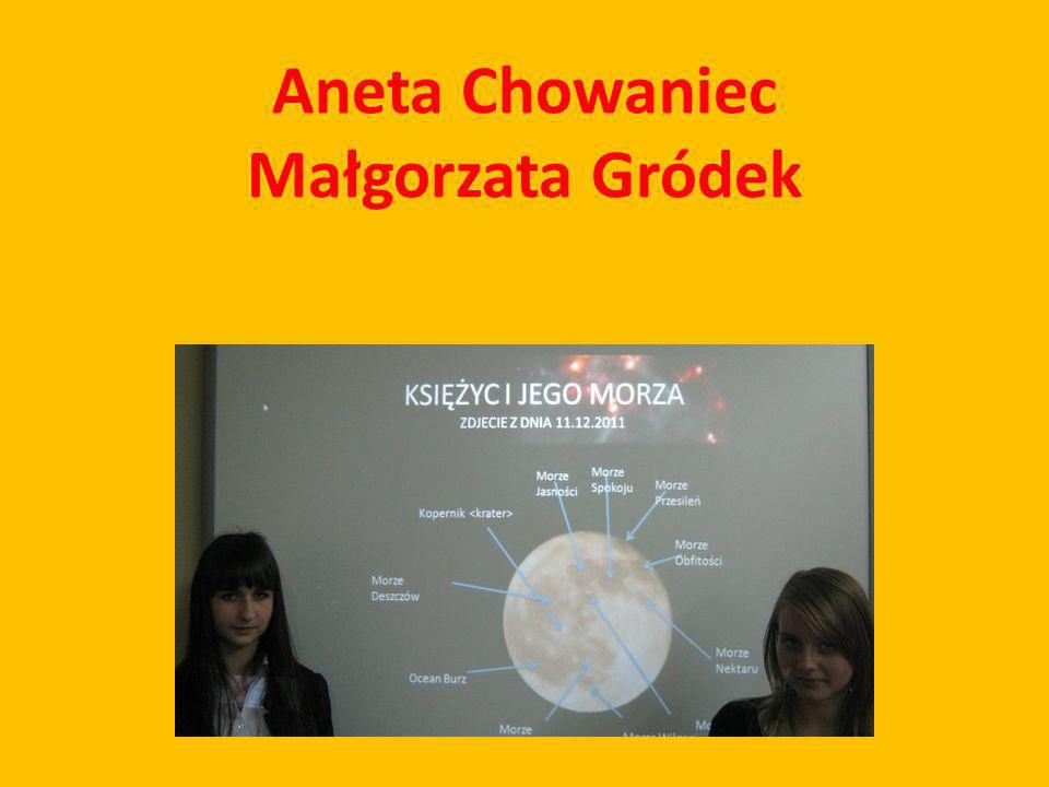 Aneta Chowaniec Małgorzata Gródek