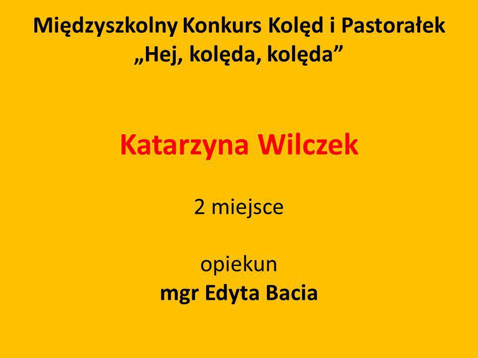 Międzyszkolny Konkurs Kolęd i Pastorałek