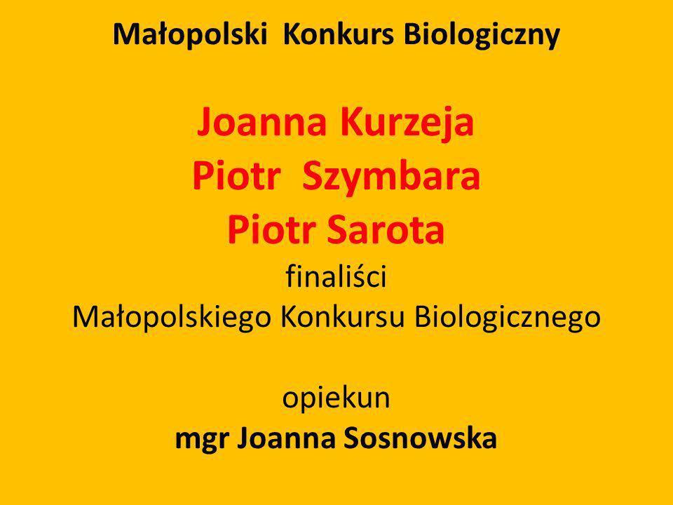 Małopolski Konkurs Biologiczny