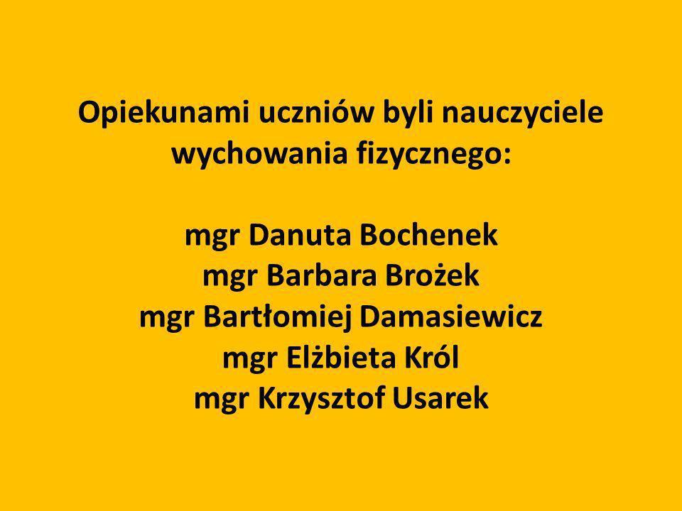 mgr Bartłomiej Damasiewicz