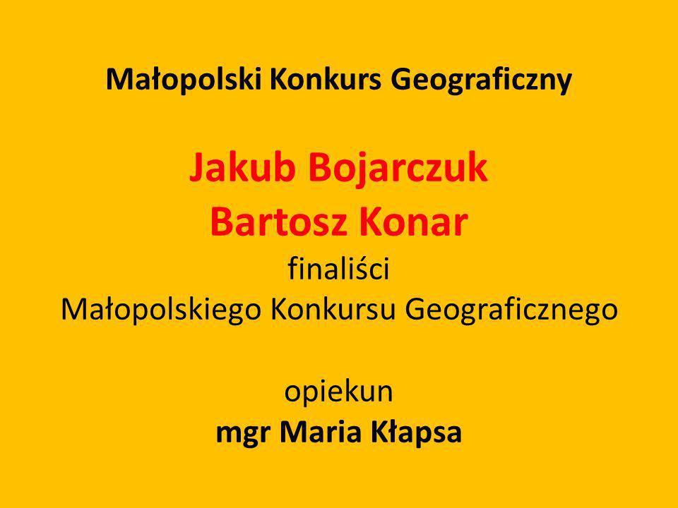 Małopolski Konkurs Geograficzny