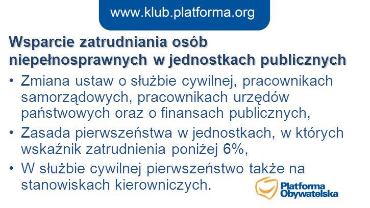 Wsparcie zatrudniania osób niepełnosprawnych w jednostkach publicznych