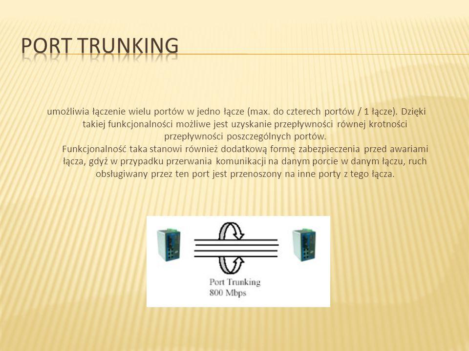 Port trunking