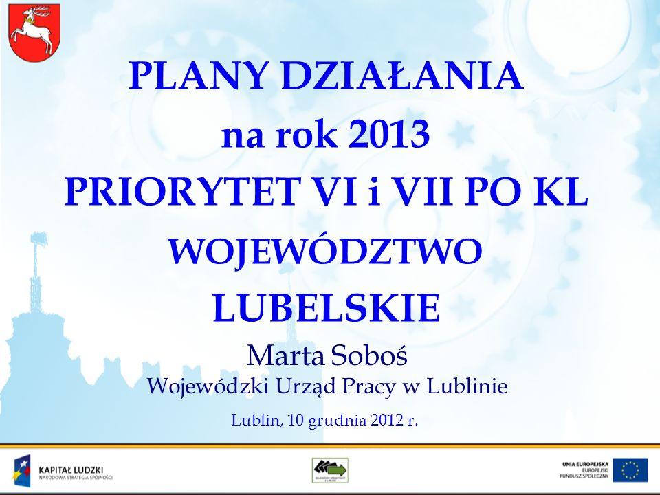 Marta Soboś Wojewódzki Urząd Pracy w Lublinie