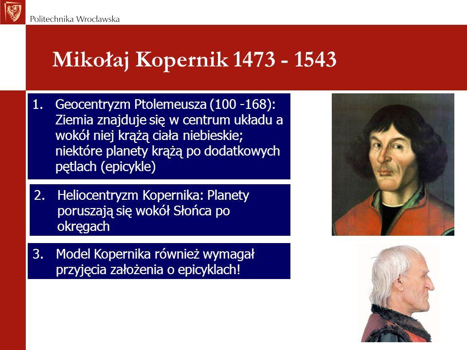 Mikołaj Kopernik 1473 - 1543