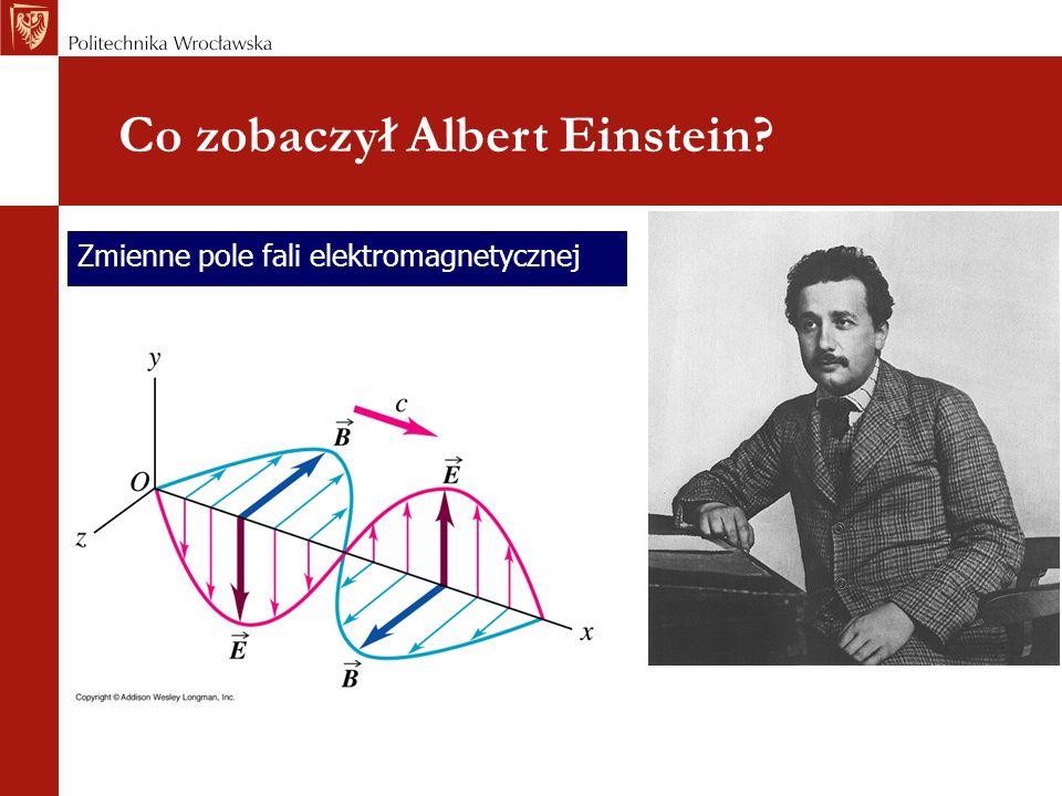 Co zobaczył Albert Einstein