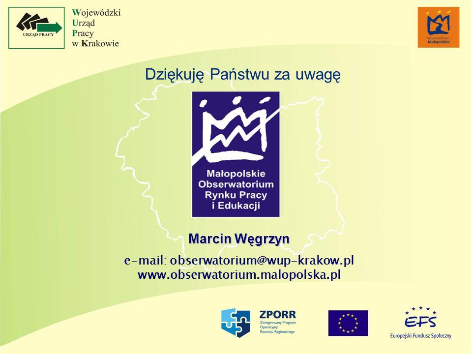 e-mail: obserwatorium@wup-krakow.pl www.obserwatorium.malopolska.pl