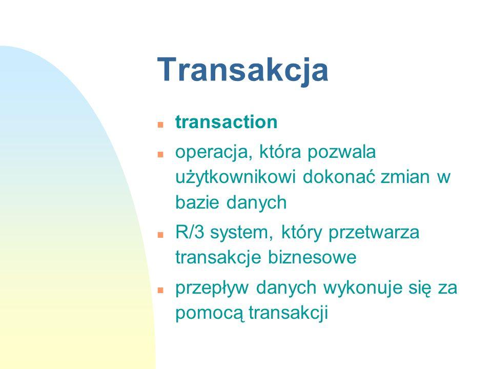 Transakcja transaction